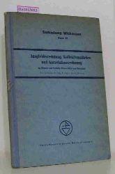 """Hugershoff, R.  Hugershoff, R. """"Ausgleichsrechnung, Kollektivmaßlehre und Korrelationsrechnung im Dienste von Technik, Wissenschaft und Wirtschaft. (=Sammlung Wichmann; Band 10)."""""""