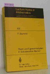 Stummel, F.  Stummel, F. Rand- und Eigenwertaufgaben in Sobolewschen Räumen. (=Lecture Notes in Mathematics, Bd.102).