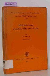 Berth, Rolf  Berth, Rolf Marktforschung zwischen Zahl und Psyche. Eine Analyse der befragenden Marktbeobachtung in Westdeutschland.