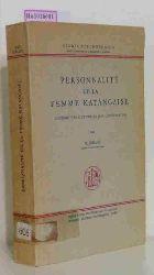 Leblanc, M.  Leblanc, M. Personnalite de la femme katangaise. Contribution a l