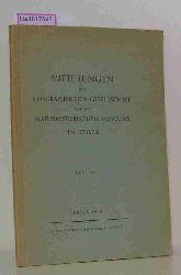 Mitteilungen der geographischen Gesellschaft und des Naturhistorischen Museums in Lübeck. Heft 45.