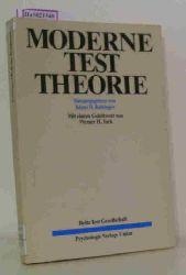 Kubinger, Klaus D. (Hg.)  Kubinger, Klaus D. (Hg.) Moderne Testtheorie - Ein Abriß samt neuesten Beiträgen.