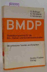 Bollinger, G. u.a.  Bollinger, G. u.a. BMDP. Statistikprogramme für die Bio-, Human- und Sozialwissenschaften. Eine Beschreibung der Programmversionen 77 - 81.