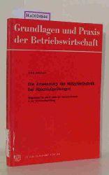Kraushaar, Peter  Kraushaar, Peter Die Anwendung der Netzplantechnik bei Abschlußprüfungen. Wegweiser für den Einsatz der Netzplantechnik in der Wirtschaftsprüfung.