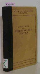 """Finkelnburg, Wolfgang  Finkelnburg, Wolfgang """"Kontinuierliche Spektren. (=Struktur u. Eigenschaften der Materie; XX)."""""""