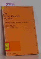 Bleidick, Ulrich  Bleidick, Ulrich Das sonderpädagogische Gutachten.