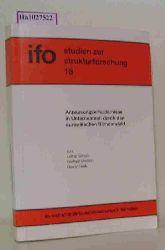 """Scholz, Lothar u. a.  Scholz, Lothar u. a. """"Anpassungserfordernisse in Unternehmen durch den europäischen Binnenmarkt. (=Ifo Studien zur Strukturforschung; 15)."""""""