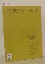Symposion 1997. Arbeitsdokumentation. [Katalog zum 7.Sächsisches Druckgrafik-Symposion in den Werkstätten von Jeanette und Reinhard Rössler in Hohenossig].