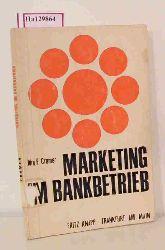 Cramer, Jörg-Engelbrecht  Cramer, Jörg-Engelbrecht Marketing im Bankbetrieb.