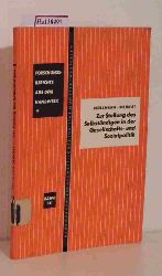 Möllmann / Wernet, Wilhelm  Möllmann / Wernet, Wilhelm Zur Stellung des Selbständigen in der Gesellschafts- und Sozialpolitik. (Forschungsberichte aus dem Handwerk, Band 14).
