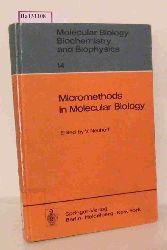 Neuhoff, V. (ed.)  Neuhoff, V. (ed.) Micromethods in Molecular Biology. (= Molecular Biology, Biochemistry and Biophysics, 14).