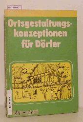 Picht, Klaus / Regen, Klaus  Picht, Klaus / Regen, Klaus Ortsgestaltungskonzeptionen für Dörfer.