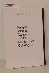 Tempo Moteur Corpus Index Modernista Catalogue. Nicolas Chardon.