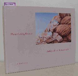 Knapp, Gottfried Rauch  Knapp, Gottfried Rauch Aufstand der Landschaft. Zu den Farbstift- Zeichnungen von Hans Georg Rauch.