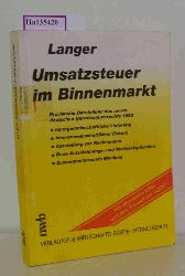 Langer, Michael  Langer, Michael Umsatzsteuer im Binnenmarkt
