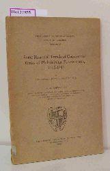 Burns, Edward John  Burns, Edward John Some Financial Trends of Commercial Banks of Philadelphia, Pennsylvania, 1915-1941. A Dissertation.