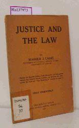 Laski, Harold L.  Laski, Harold L. Justice and the Law.
