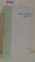 Foester, Hubertus (Hg.)  Foester, Hubertus (Hg.) Heilpraktiker-Jahrbuch 2000.