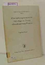 Heiler, Siegfried  Heiler, Siegfried Wirtschaftsprognosen auf der Grundlage der Theorie schwach stationärer Prozesse.