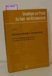Jäger, Werner  Jäger, Werner Bankenpublizität in Deutschland.