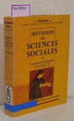 Duverger, Maurice  Duverger, Maurice Methodes des Sciences Sociales.
