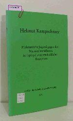 """Kampschroer, Helmut  Kampschroer, Helmut """"Proletarische Jugend gegen den Nationalsozialismus im Spiegel wissenschaftlicher Rezeption. (=Schriftenreihe des Archivs der Arbeiterjugendbewegung; Nr. 17)."""""""