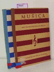 Alt, Michael / Eßer, Joseph  Alt, Michael / Eßer, Joseph Musica. Musikbuch für Realschulen.1. und 2. Band.