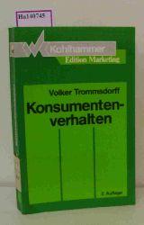 Trommsdorff, Volker  Trommsdorff, Volker Konsumentenverhalten. ( Edition Marketing) .