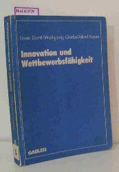 Dichtl, Erwin / Gerke, Wolfgang u.a.  Dichtl, Erwin / Gerke, Wolfgang u.a. Innovation und Wettbewerbsfähigkeit. Wissenschaftliche Tagung des Verbandes der Hochschullehrer für Betriebswirtschaft e.V. an der Universität Mannheim.