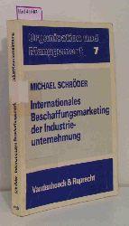 Schröder, Michael  Schröder, Michael Internationales Beschaffungsmarketing der Industrieunternehmung. Zur Gestaltung internationaler und interkultureller Beschaffungsbeziehungen. ( = Organisation und Management, 7) .