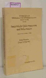 """Mertens, Peter / Schrammel, Dieter  Mertens, Peter / Schrammel, Dieter """"Betriebliche Dokumentation und Information. (=Schriften zur wirtschaftswissenschaftlichen Forschung; Band 123)."""""""