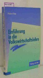 Reip, Hubert  Reip, Hubert Einführung in die Volkswirtschaftslehre.