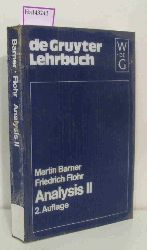 Barner, Martin / Flohr, Friedrich  Barner, Martin / Flohr, Friedrich Analysis II.