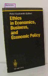 Koslowski, Peter( Ed. )  Koslowski, Peter( Ed. ) Ethics in Economics, Business, and Economic Policy.