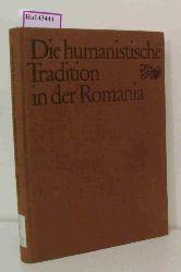 Buck, August  Buck, August Die humanistische Tradition in der Romania.