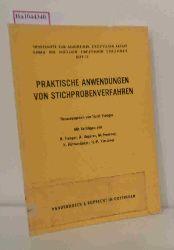 Stenger, Horst( Hrg. )  Stenger, Horst( Hrg. ) Praktische Anwendungen von Stichprobenverfahren. ( = Sonderhefte zum allgemeinen statistischen Archiv, 17) .