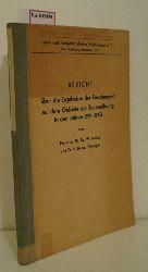 Lenkeit, W. / Brune, H.  Lenkeit, W. / Brune, H. Bericht über die Ergebnisse der Forschungen auf dem Gebiete der Tierernährung in den Jahren 1951-1952.