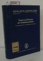 Scharf, Joachim-Hermann (Hg.)  Scharf, Joachim-Hermann (Hg.) Physik und Chemie der Kristalloberfläche. Vortragstagung vom 8. bis 11. Oktober 1966 in Halle (Saale).