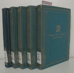Kindermann, Heinz u.a.(Hg)  Kindermann, Heinz u.a.(Hg) Deutsche Literatur. Sammlung literarischer Kunst- und Kulturdenkmäler in Entwicklungsreihen. Reihe Deutsche Selbstzeugnisse. Bd. 4,5,7,8,12