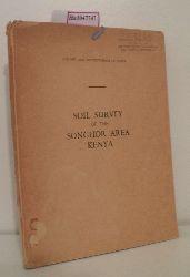 Colony and Protectorate of Kenya, Department of Agriculture (ed.)  Colony and Protectorate of Kenya, Department of Agriculture (ed.) Soil Survey of the Songhor Area Kenya.