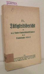 IX. Tätigkeitsbericht der n.-ö. Landwirtschaftskammer für die Berichtjahre 1936/37.