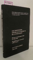 Les Dimensions optimum et maximum de l