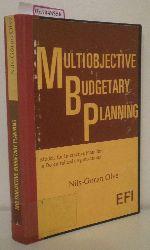 Olve, Nils-Göran  Olve, Nils-Göran Multiobjective Budgetary Planning. Models for Interactive Planning in Decentralized Organizations.