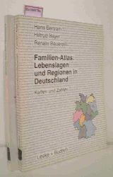 Bertram, Hans u.a.  Bertram, Hans u.a. Familien-Atlas: Lebenslagen und Regionen in Deutschland. Karten und Zahlen. 2 Bände: I und II.