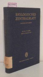 Biologisches Zentralblatt, 86. Bd/Supplement. Arbeiten von Freunden, Kollegen, Mitarbeitern und Schülern für Hans Stubbe zum 65. Geburtstag am 7. März 1967.