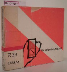 Handbuch für den Orientierungslauf.