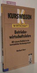 Baur, Norbert  Baur, Norbert Kurswissen Betriebswirtschaftslehre.