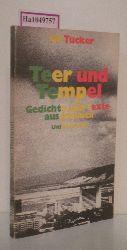 Tucker, Gil  Tucker, Gil Teer und Tempel. Gedichte und Texte aus Jamaica.