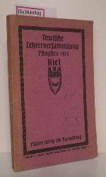 Kieler Lehrerverein (Hg.)  Kieler Lehrerverein (Hg.) Führer durch die Schulausstellung in Kiel, Pfingsten 1914.