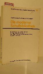Meyer-Dohm, Peter / Strauß, Wolfgang (Hg.)  Meyer-Dohm, Peter / Strauß, Wolfgang (Hg.) Die moderne Schulbibliothek. Bestandsaufnahme und Modell. (= Schriften zur Buchmarkt-Forschung 19).